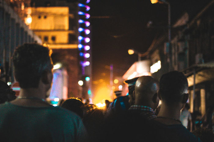 Just following the light. Canon Beautiful Moody Joyful Moments Bestoftheday Mobility In Mega Cities Illuminated Music Nightlife Night Crowd People Large Group Of People Arts Culture And Entertainment Real People Togetherness Fun Enjoyment Performing Arts Event Celebration