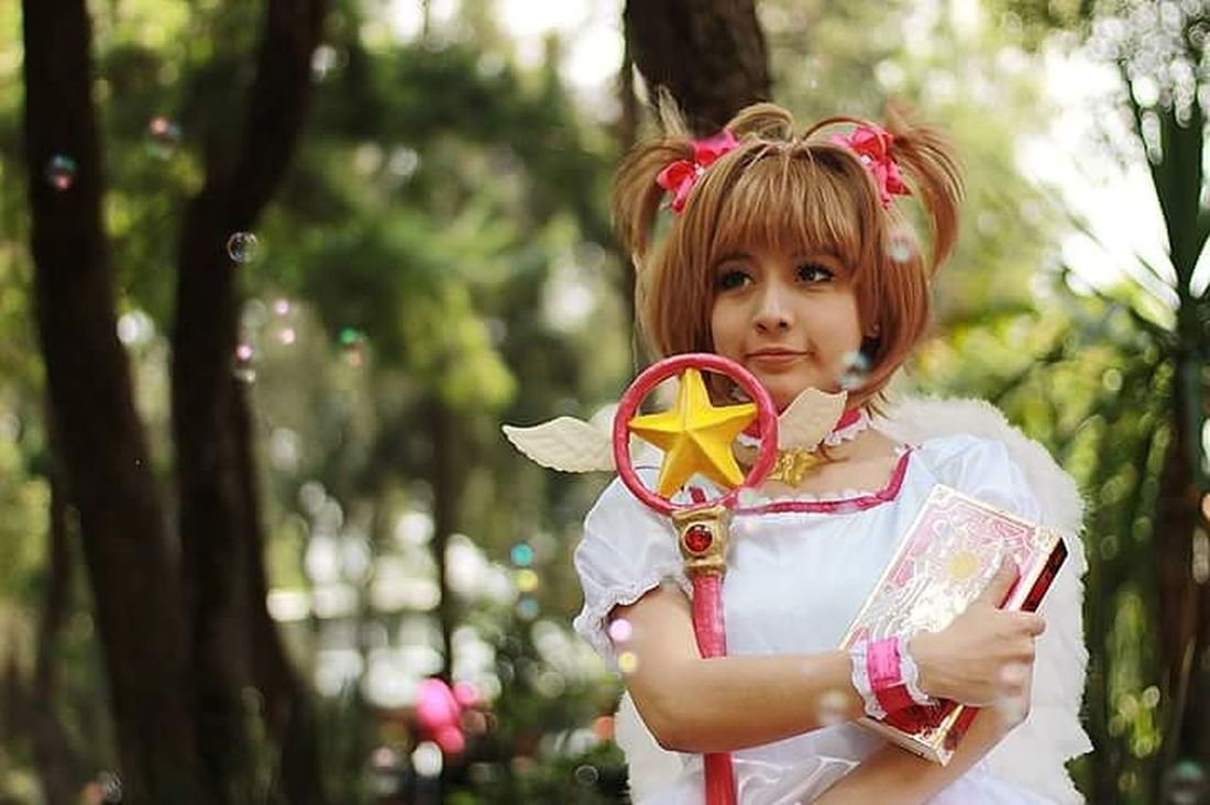 Sakura Sakura2016 Sakuracardcaptor Cosplay Cosplayer Cosplay Photo Cosplaygirl Cosplay Photography Sakurakinomoto Child Cosplay<3 Cosplayphotography Childhood Children Only Portrait Front View One Person Cute People Looking At Camera One Girl Only Headshot Girls Flower Outdoors