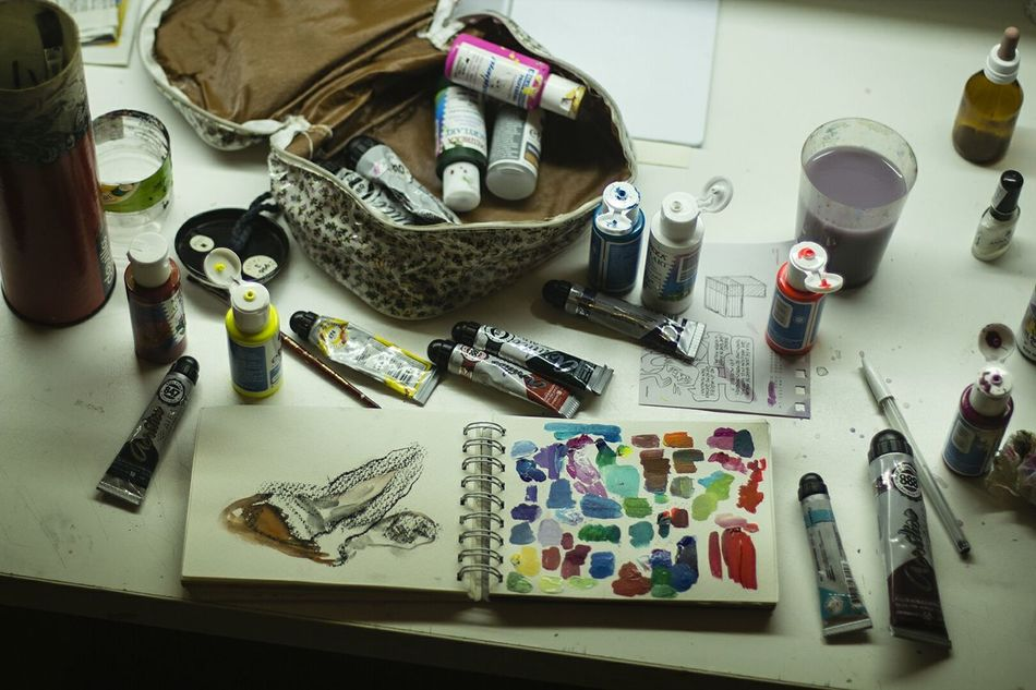 Lieblingsteil Paintings Colors Art Brushes Acrylic Acrylic Painting Acrylics Drawing Millennial Pink