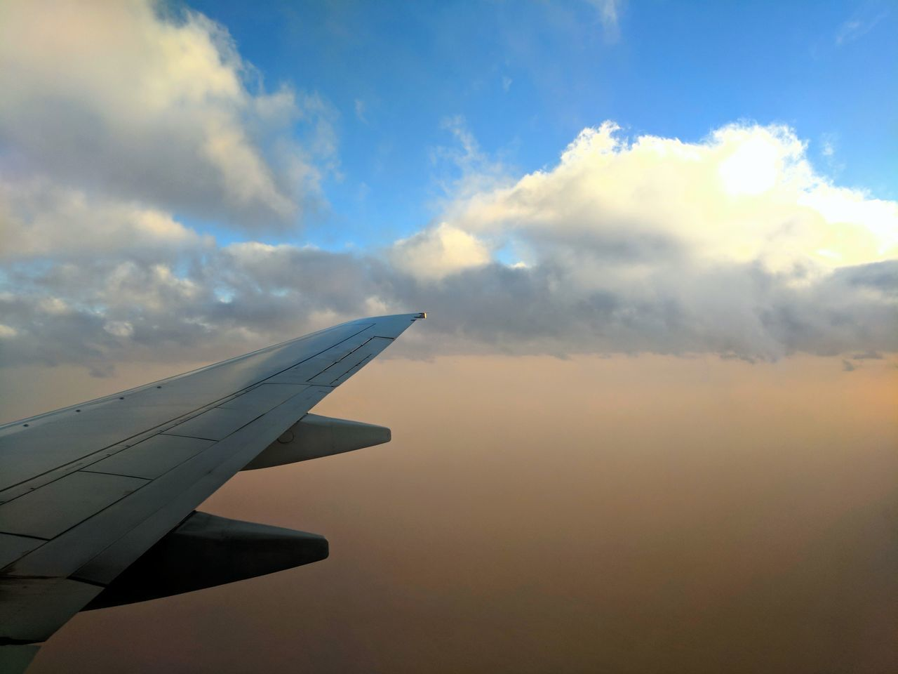Airplane Flying Cloud - Sky Sky Travel Aircraft Wing Transportation Journey Aerial View Commercial Airplane Aerospace Industry Plane Sky And Clouds Air Airport Air Vehicle Aircraft Airplane Wing No People Outdoors Nature Day