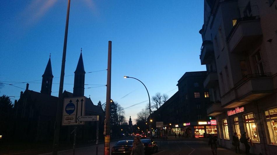 Nightsinberlin Berlincitylights Berlin By Night