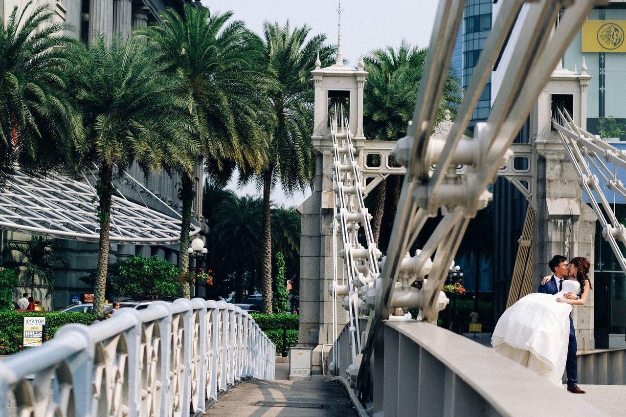 Wedding Photography Wedding Weddings Bridge Singapore Popular Photos Eye4photography  EyeEm Best Shots Taking Photos Streetphotography Enjoying Life City City Life Street Travel Traveling The Architect - 2016 EyeEm Awards