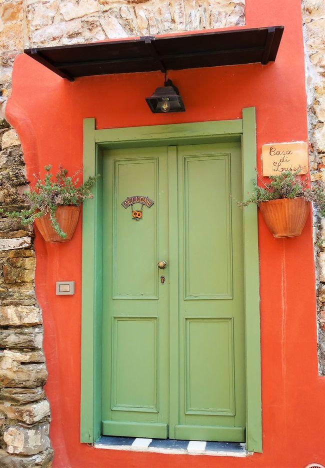 Door in the village of Civezza, Italy Architecture Building Exterior Charming Civezza Door Doors Entrance House Italy Liguria Liguria,Italy