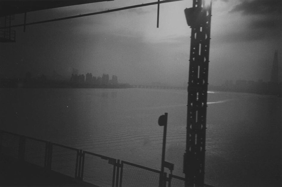Black&white Film Subway & my first b&w rol :D