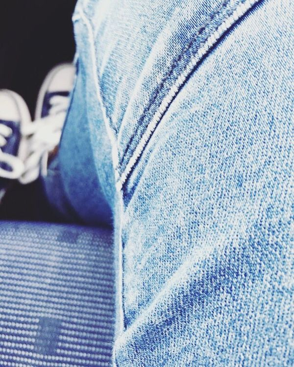 Jeans Blue Jeans Close-up Human Leg Human Blue Person Personal Perspective
