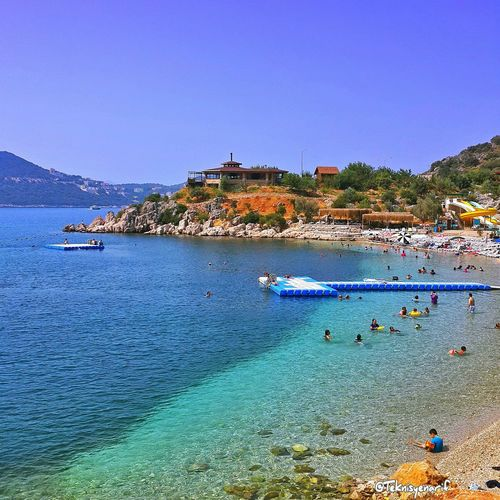 Akçagerme plajı kaş Swimming Kas Akçagerme Plaj