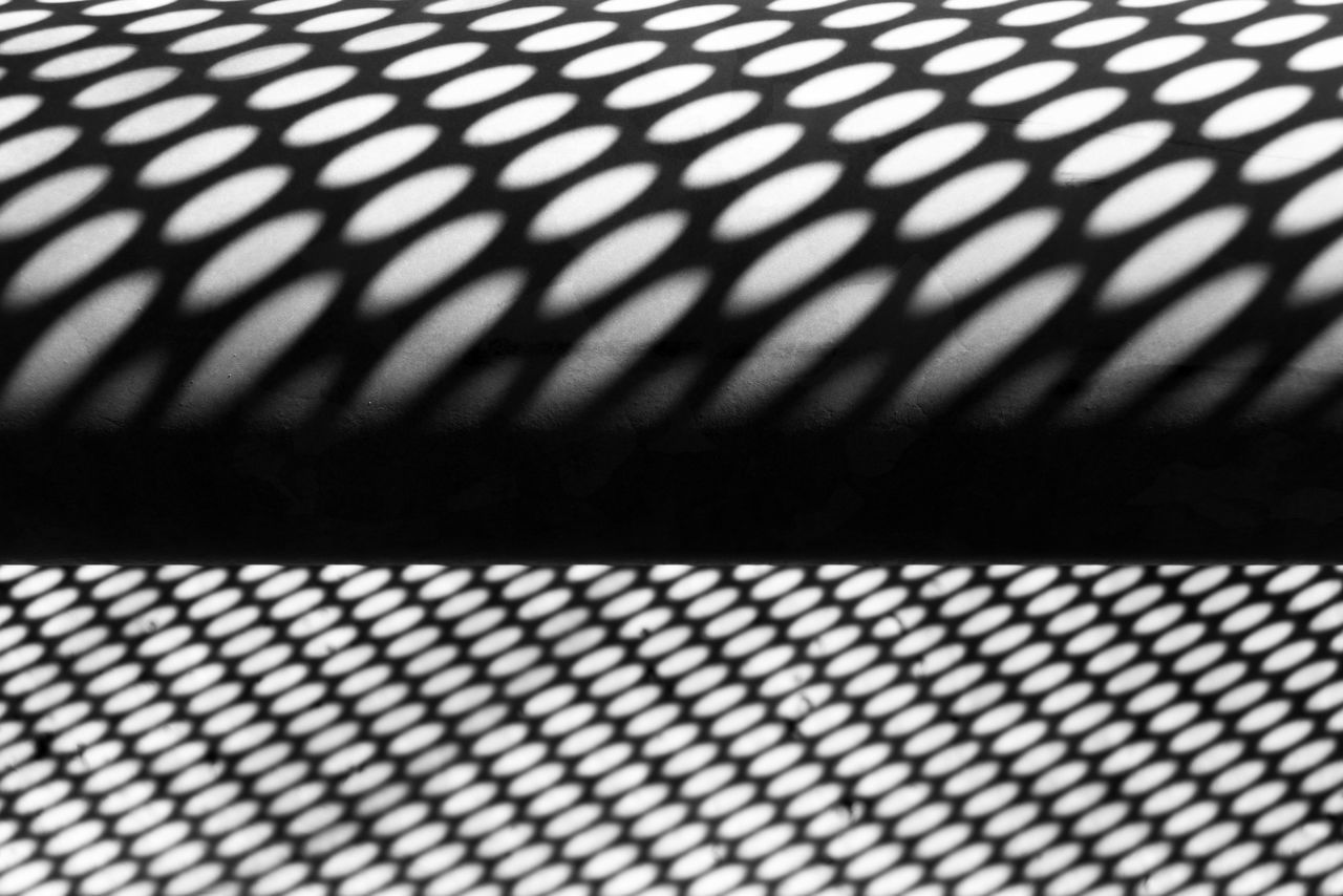 Abstract Backgrounds Blackandwhite City Close-up Contrast Day Full Frame Geometry Indoors  Metal No People Pattern Shadow Textured  Urban Urban Geometry