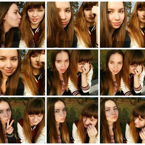 Bffs ✌ Russian Girl Photo Collage