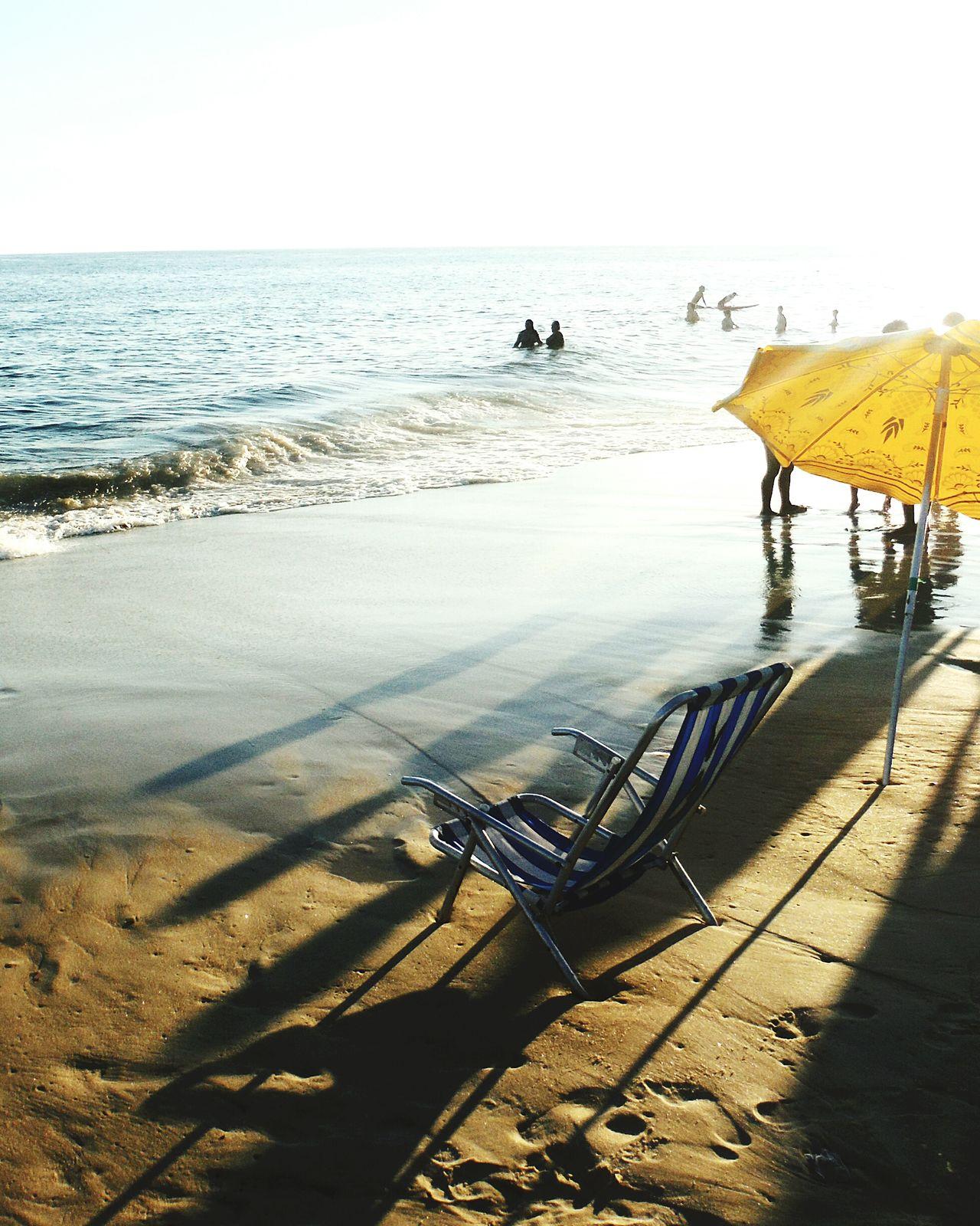 Ocean Tides Tide Brasil Brazil Rio De Janeiro Eyeem Fotos Collection⛵ Rio De Janeiro Ipanema Beach Ipanema Beach Water Beach Chair People Outdoor Photography