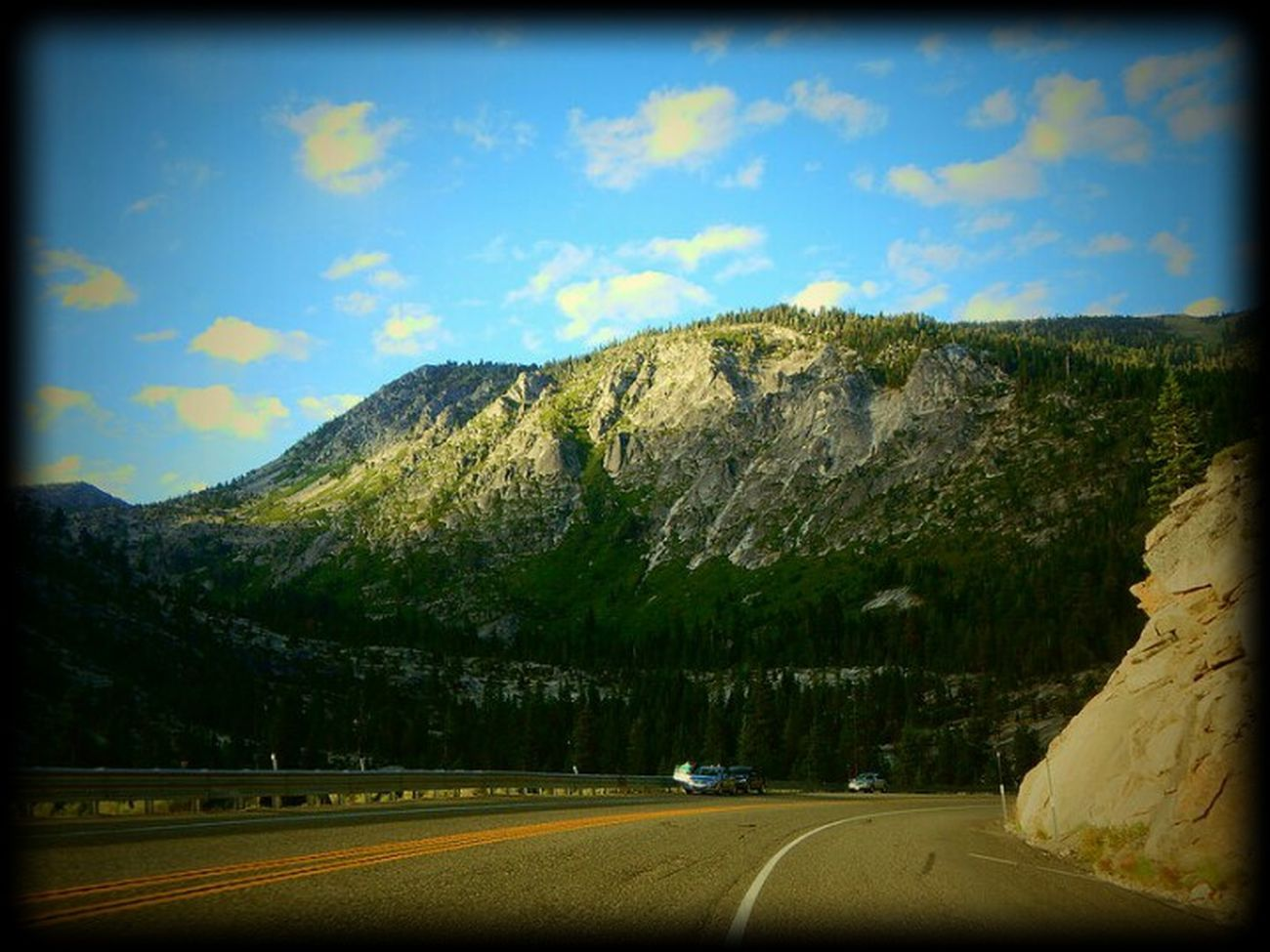 Road Tree Nature Scenics Mountain Sky Day Outdoors Beauty In Nature Nikon L830 California CA