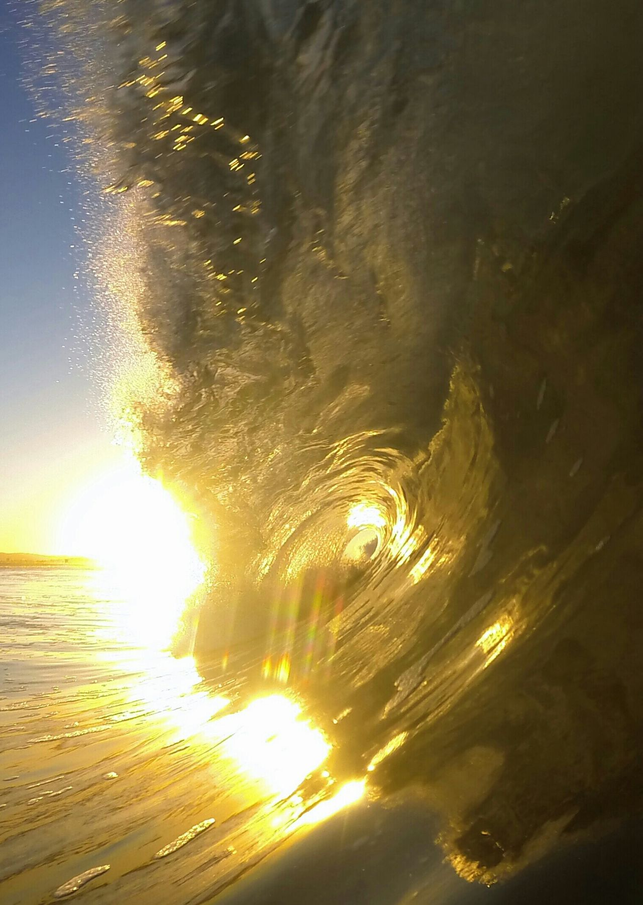 1/24/15 Toobsday Barrelsforbreakfast Water And Light Wave Cave Water_collection Eat Sleep Surf Sunrise Being A Beach Bum Surf Photography EyeEm_crew