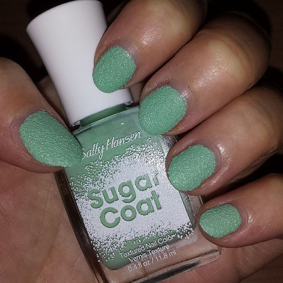 Love my nails ♡ Sallyhansen_de Sugarcoat Mysallynails Prsample thanks newin nailpolish beauty nagellack bblogger notd