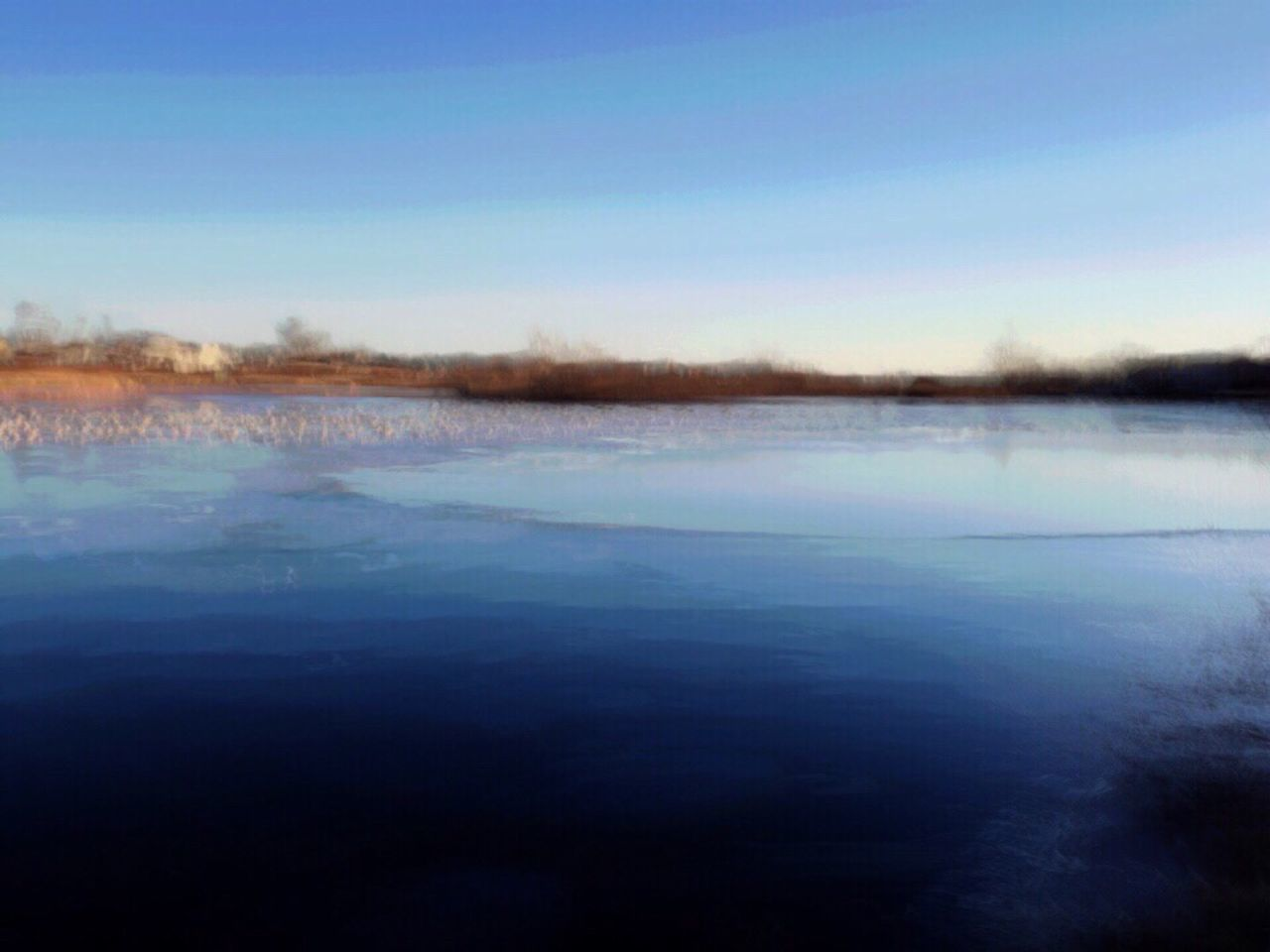 Water Blue Nature Sky Scenics No People Beauty In Nature Tranquil Scene Tranquility Outdoors Landscape Day Geese Geese Photography Geese Gathering Abstract Abstract Photography The Week On Eyem Lanscape Landscape_Collection Landscape_photography Oswego, IL The Great Outdoors - 2017 EyeEm Awards