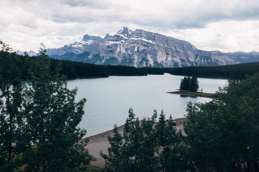 Banff National Park  Beauty In Nature Cold Temperature Day Forest Lake Landscape Mountain Mountain Peak Mountain Range Nature Outdoors Peak Reflection Scenics Sky Snow Snowcapped Mountain Tranquil Scene Tranquility Travel Destinations Tree Water Wilderness Winter