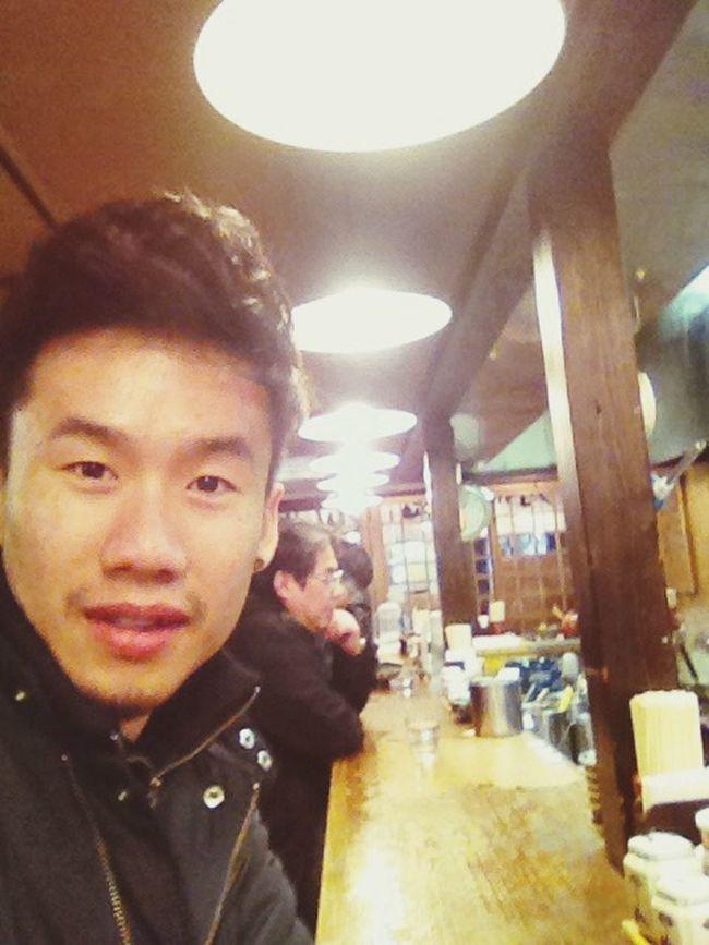 Ramen Alone Sefle Enjoy Japanese Food diner with me :)