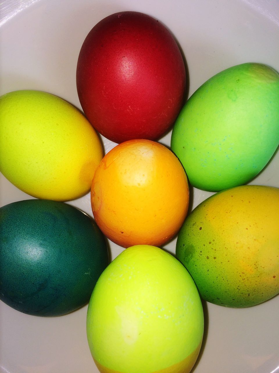 food, food and drink, indoors, green color, egg, healthy eating, close-up, multi colored, table, freshness, no people, yellow, day