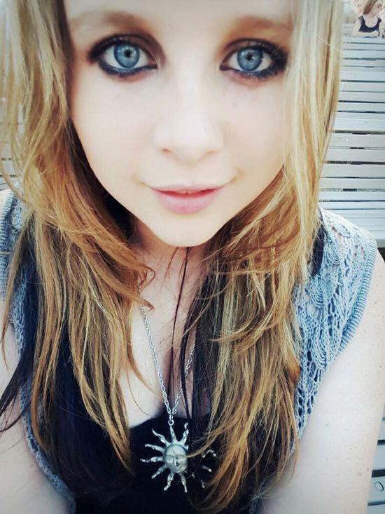 Selfie ✌ Summertime Blue Eyes Self Portrait Selfieaddicted ♡ Smiles