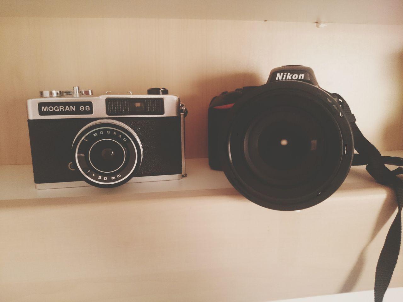 Vintage Camera vs Nikon Old Vs New New Technology Old School Analog Camera Analog Vs Digital Camera Generations Morgan Camera My Cameras Things I Like