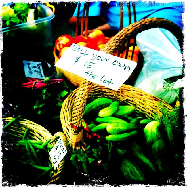 Checking in at Barossa Farmer's Market No Flash Kodot XGrizzled Film Checking In