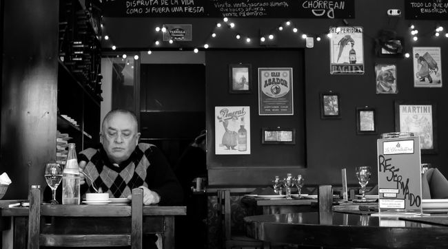 Leicacamera Black And White Black And White Photography Lunch Time! LunchAlone People Restaurant