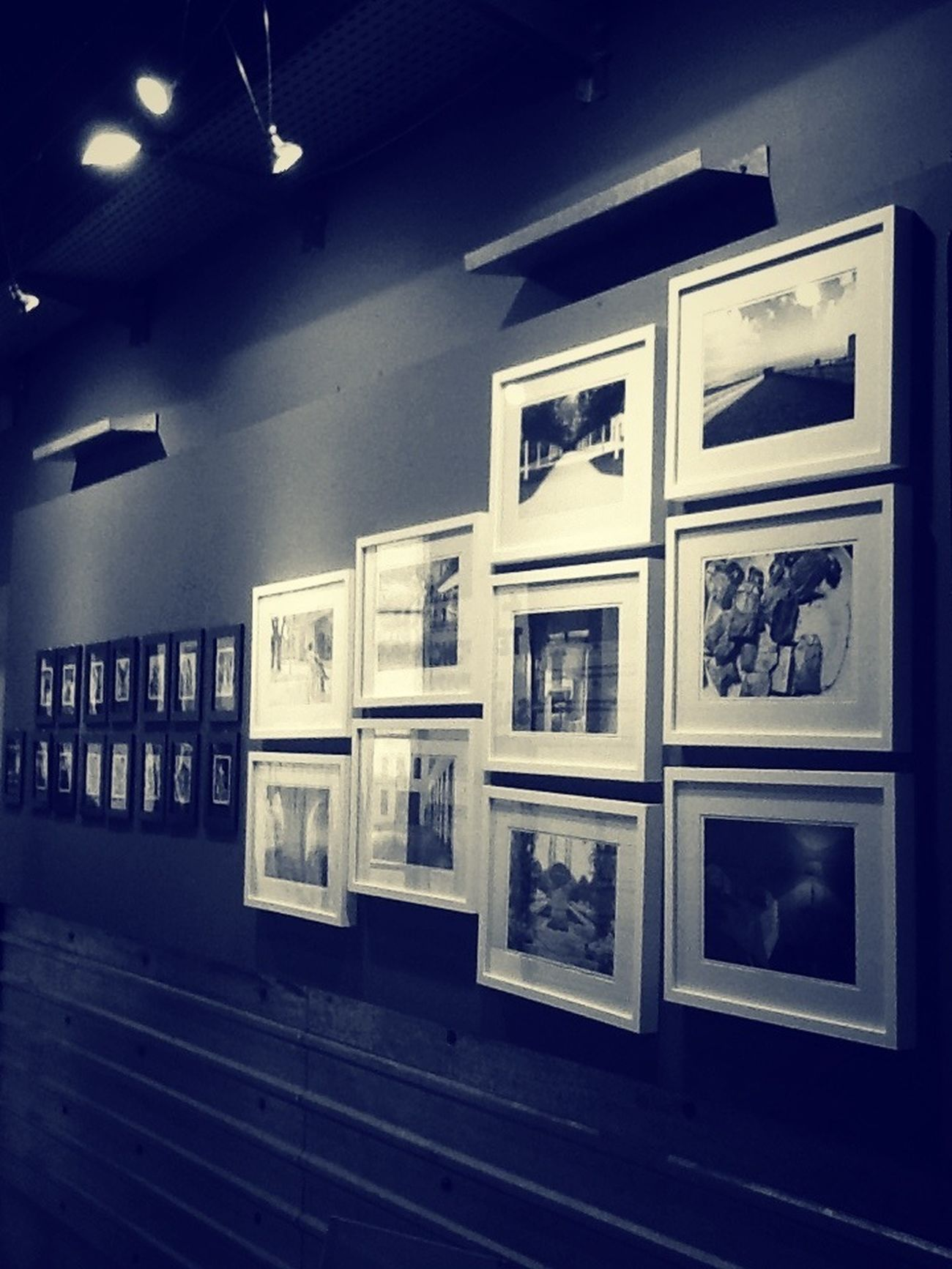 Sharing My Photos At An Exhibition Exposition Blackandwhite Photography