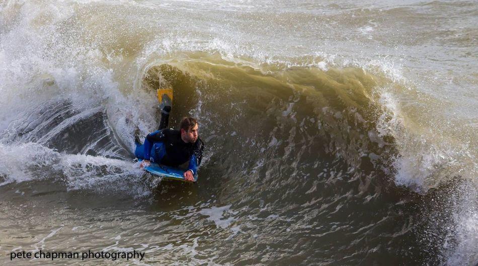 Boscombe Pier  BodyBoarding