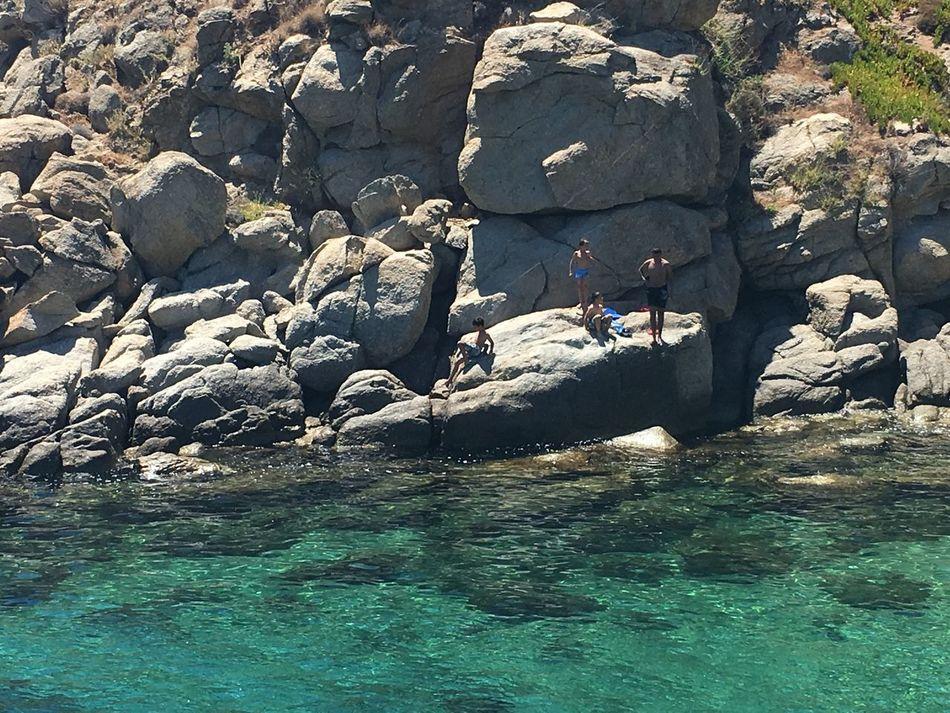 Summer Mykonos Cyclades Greece Swimming Beach Nature Oceanside Travel Enjoying Life Travel Destinations