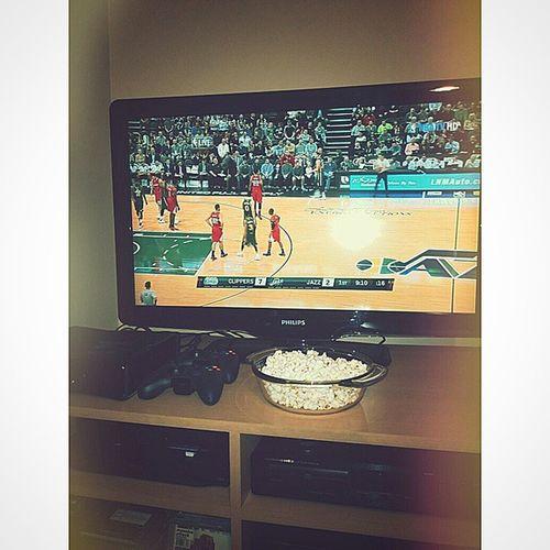 Who needs love when we have basketball? Btw, let's go LA! Midnight Pleasure NBA NbaTV LACatUTA LAClippers UtahJazz Vs Basketball Balla Playa Nigga Love Everybodyup Bestseatsinthehouse