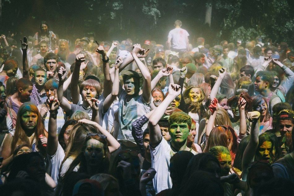 Beautiful stock photos of dance, Celebration, Color, Crowd, Dancing