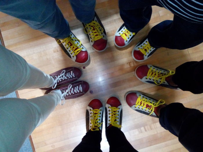 spotting the difference Bowlingtime Friendsdayout Sports Low Section Human Leg High Angle View Shoe Standing Human Body Part Adult Indoors  Leisure Activity Friendship Young Adult Lifestyles