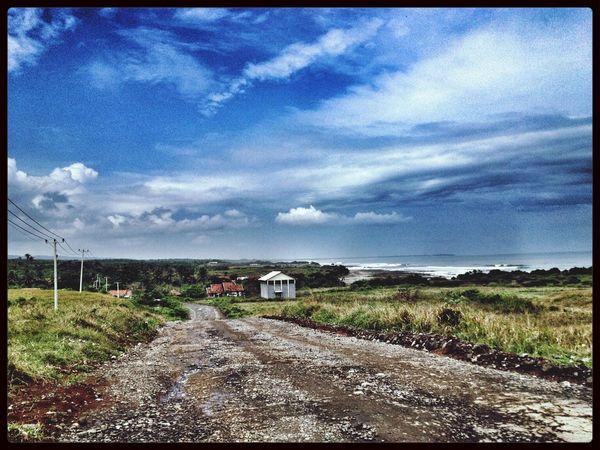 Southern coastal road, Java