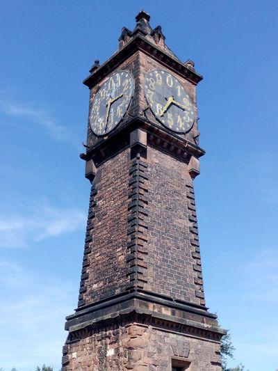 River Pegel Uhrturm Uhr