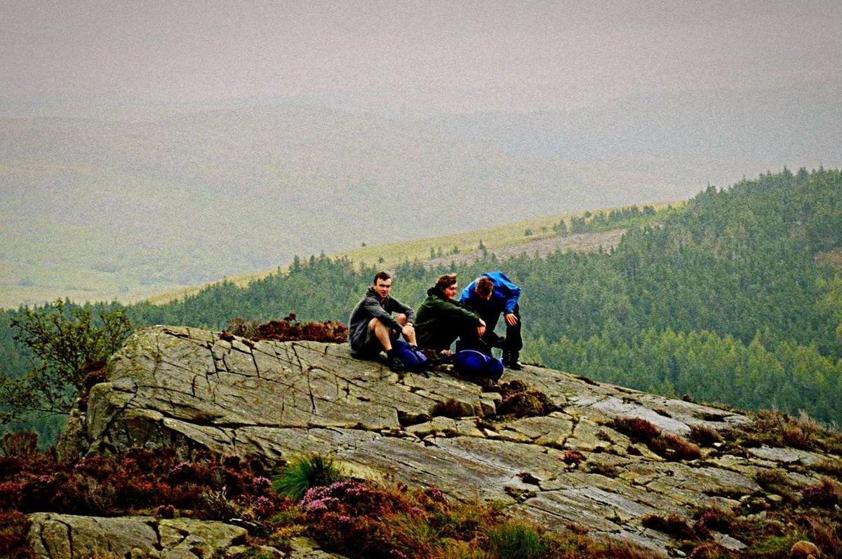 Hiking Friendship Mountain Nature Ryla