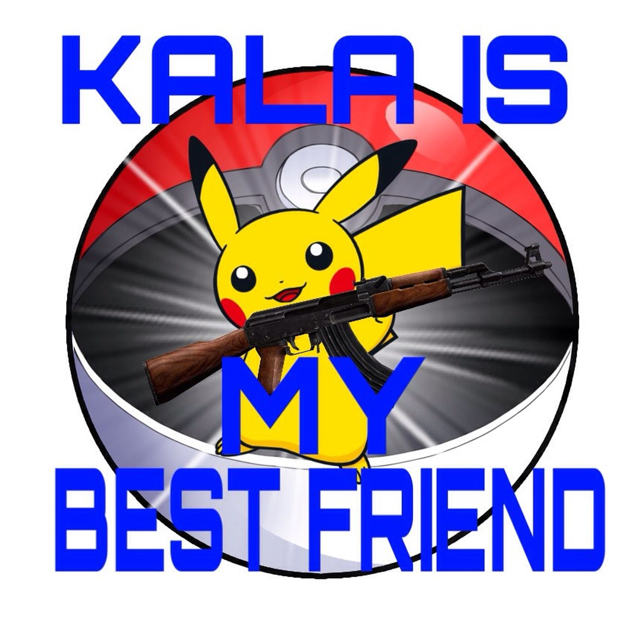 Cs:go AK47 Pokémon Pikachu Kala