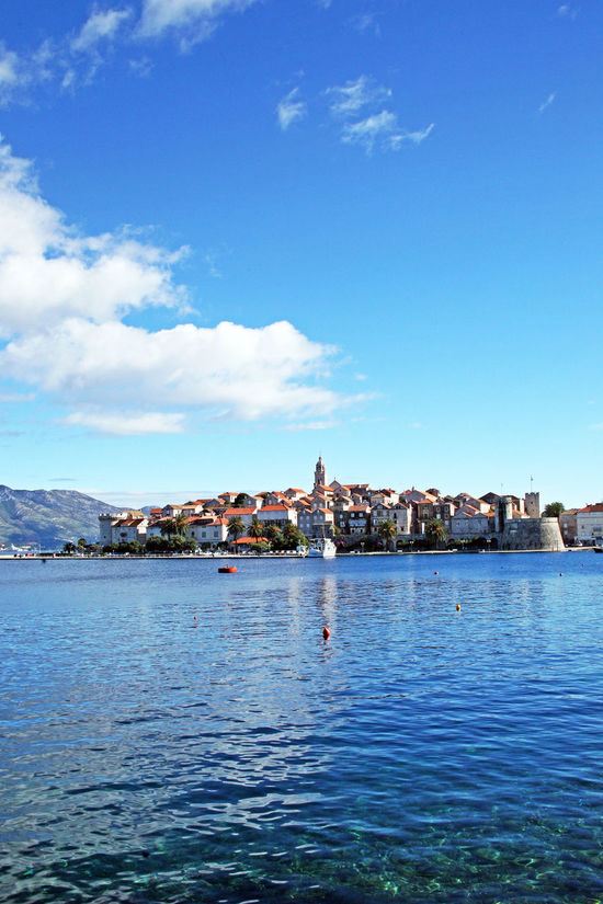 Korcula,details by autumn,Adriatic coast,Croatia,Europe,9 Adriatic Sea Architecture Autumn Building Exterior Built Structure Croatia Culture Day Eu Europe History Korčula Marco Polo No People Outdoors Peljesac Sky Tourism Destination