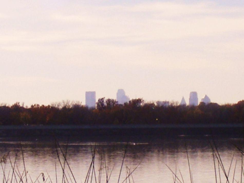 Down Town Dallas White Rock Lake Sunset City Life City View  Cityscapes