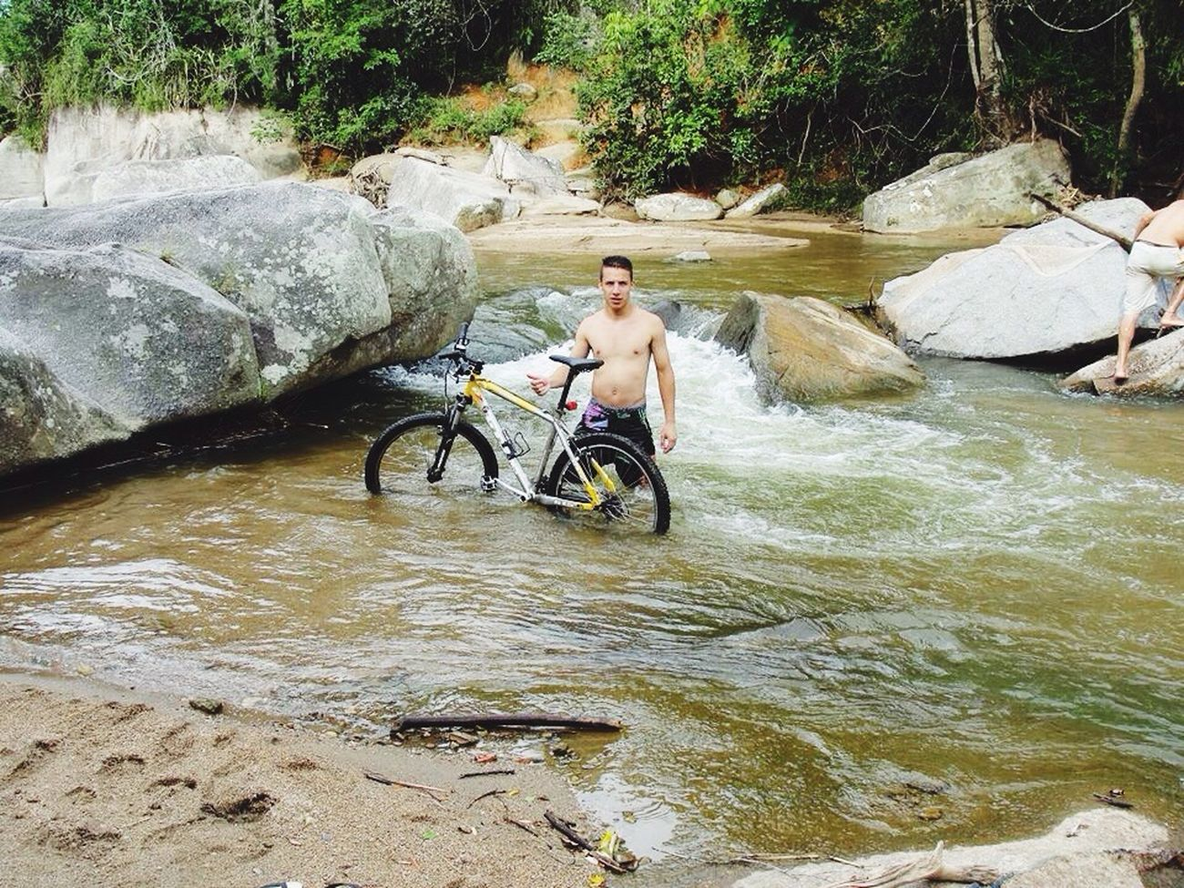 Rio itáoca Rio Hello World Enjoying Life That's Me Bike Mountain Biking