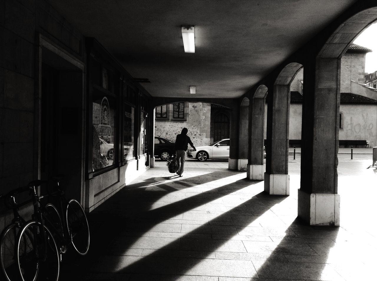 Shade // Geneva Blackandwhite Architecture Streetphotography