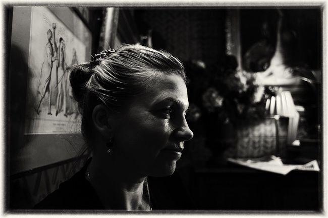 Nuit Blanche Portrait Of A Woman Politics Nightphotography Blackandwhite Film Noir Black & White Capture The Moment London ArtWork
