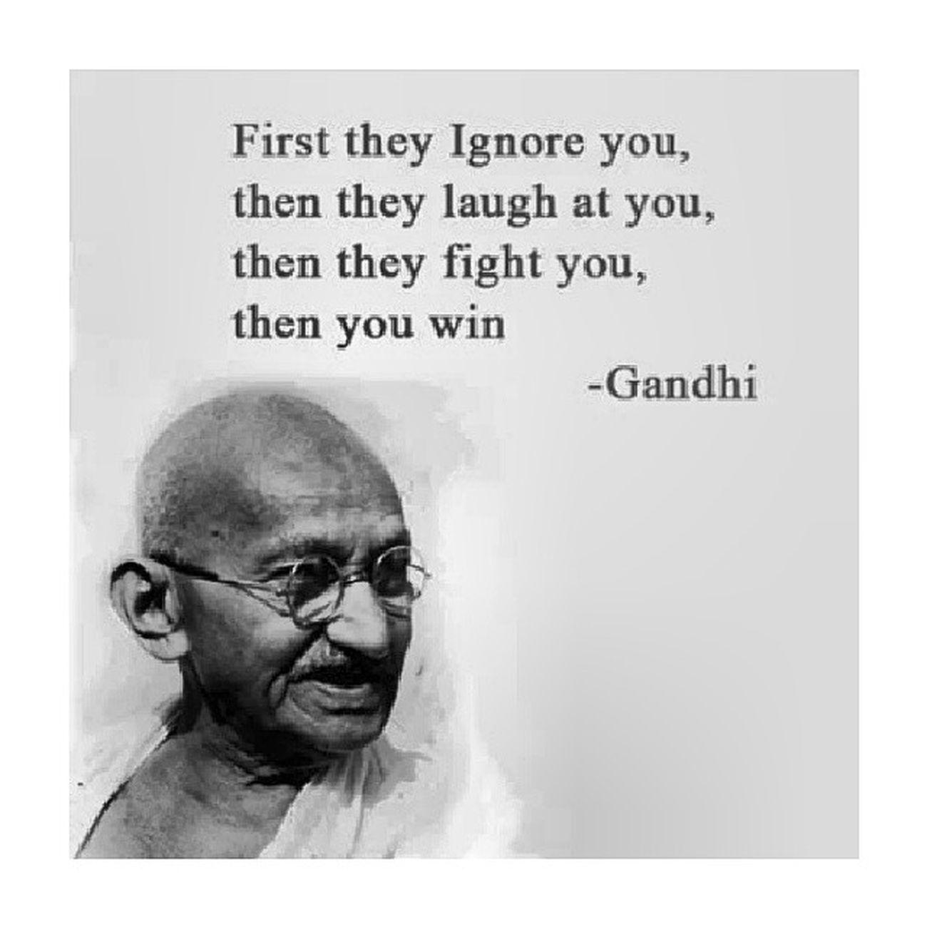 !! Quotes Gandhi Sagesse Reussite beast
