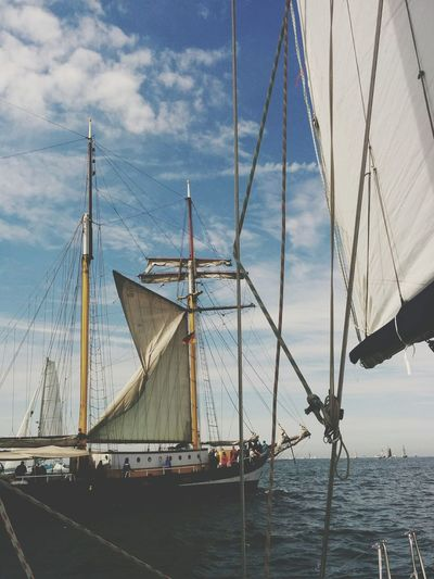 HanseSail Ships Passing By