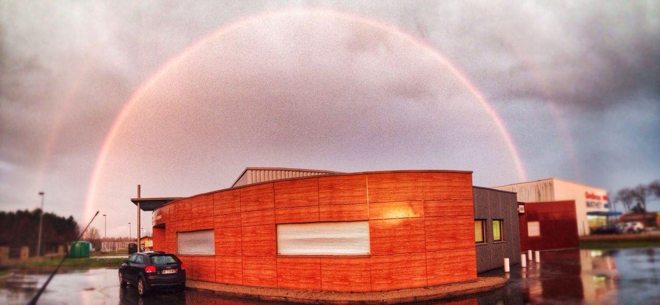 Rainbow Double Rainbow Urbanlandscape