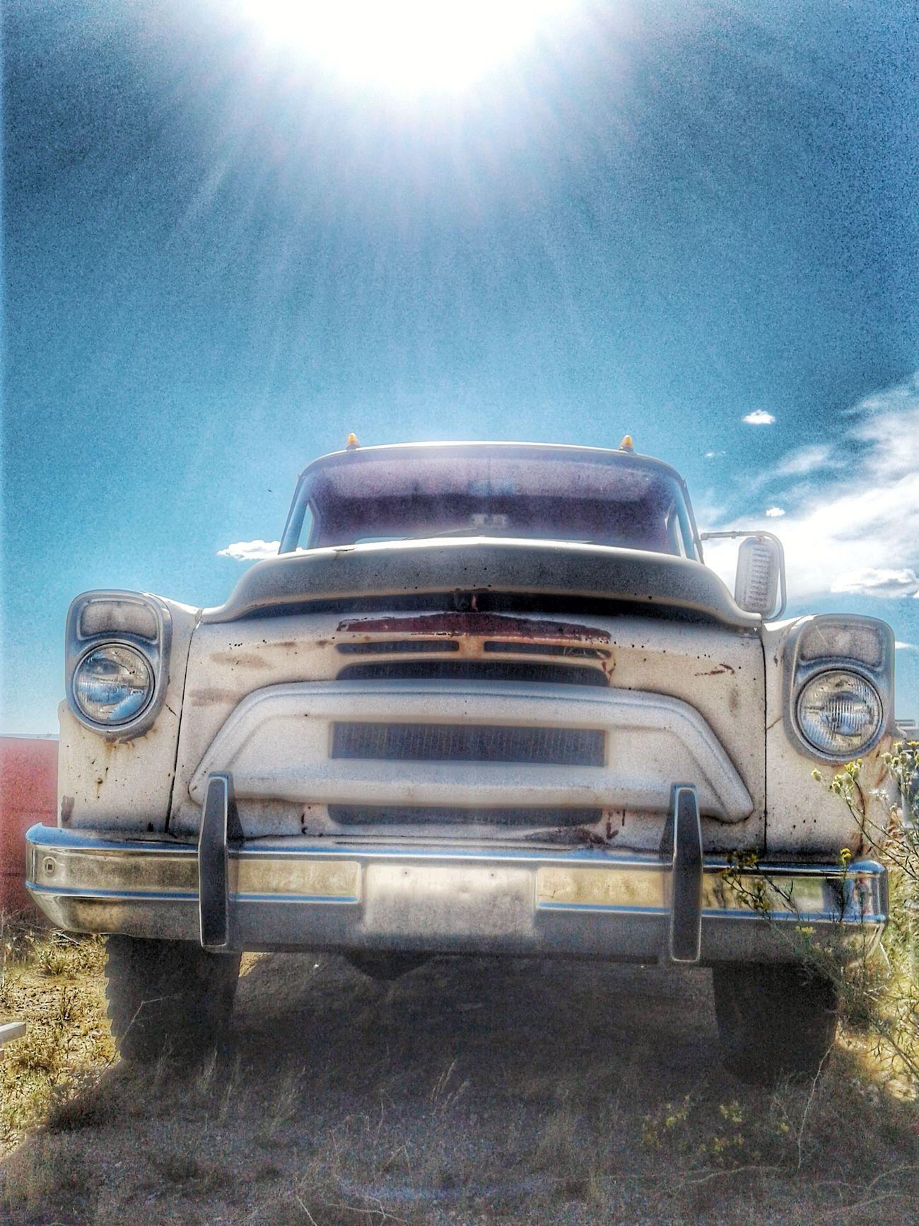 Car Semi-truck No People Space Sky Outdoors Day EyeEm Best Shots Desert Landscape Desolate International Harvester Tallac