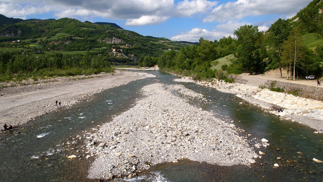 Trebbia Landscape Backgrounds Panorama View Riverscape River Trebbia Italy Wild Beauty In Nature Nature Nature_collection Rocks Stones Breathe Cloud - Sky Sky And Clouds Mountain View Beautiful Outdoors EyeEm Nature Lover EyeEm Best Shots EyeEm Gallery Mountain Range Tranquil Scene