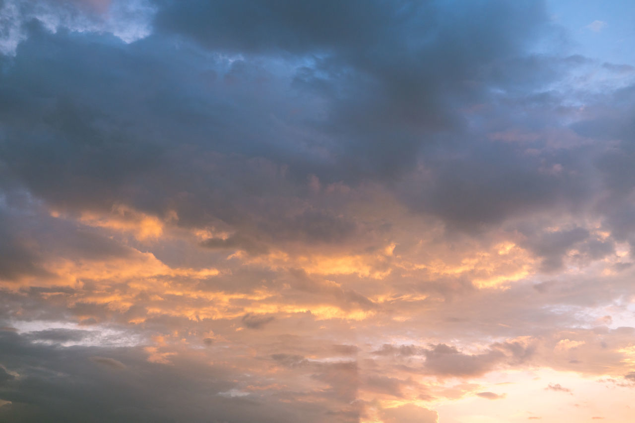 dramatic skylight Awe Backgrounds Beauty In Nature Cloud - Sky Cloudscape Day Dramatic Sky Low Angle View Nature No People Outdoors Scenics Sky Sky Only Sunlight Sunset Tranquil Scene Tranquility Weather