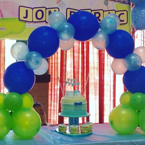 My cake buttercream ombre!😀 BabyShower:) Babychristening