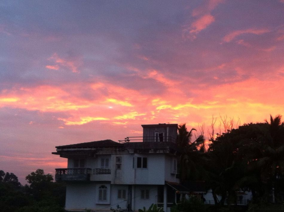 G O A 🌴 Beautiful Looking Vacation Sky Red Bestclick Nature Sunset Outdoors No People Evening Sky