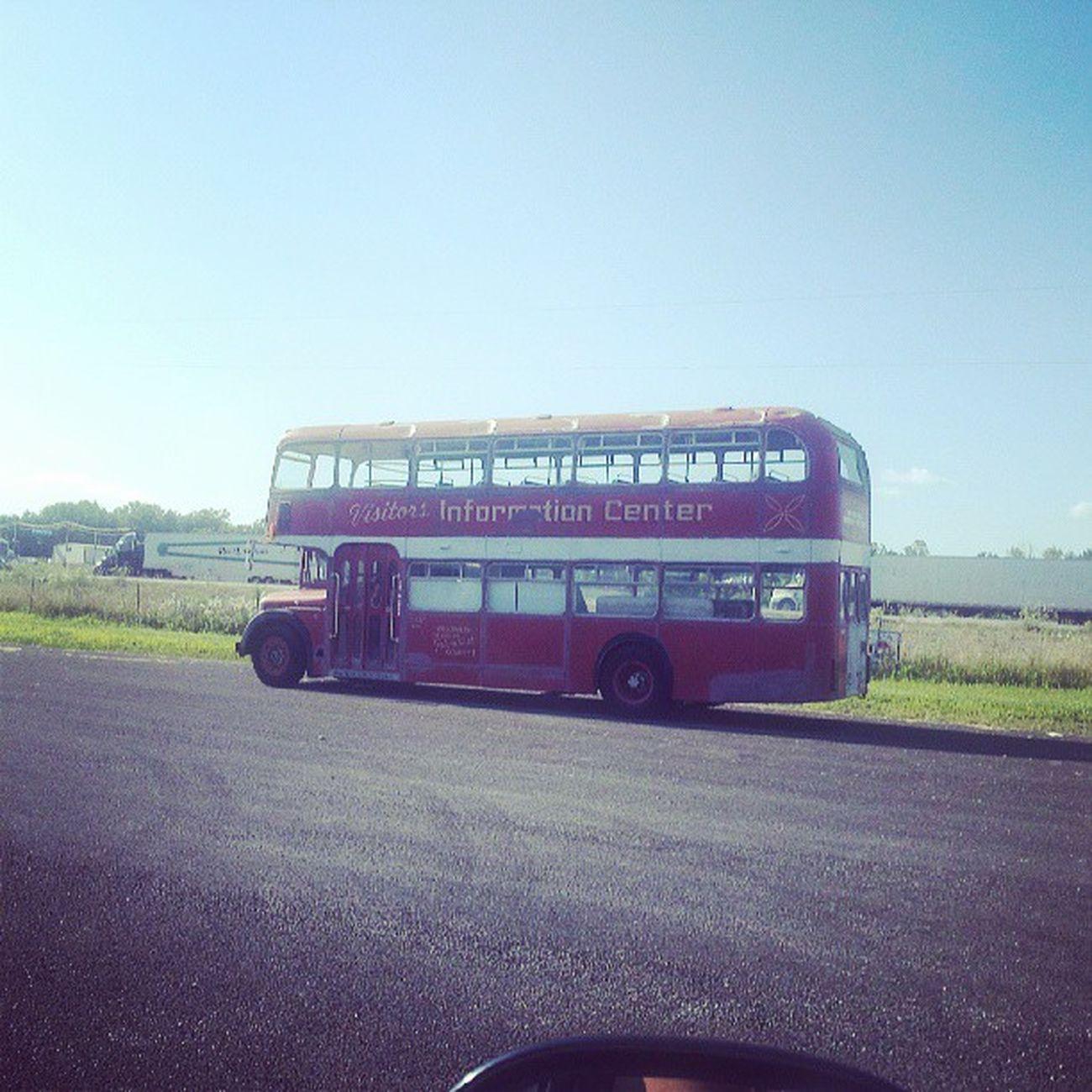 Bus Antique Antiquebus Indiana Centerville