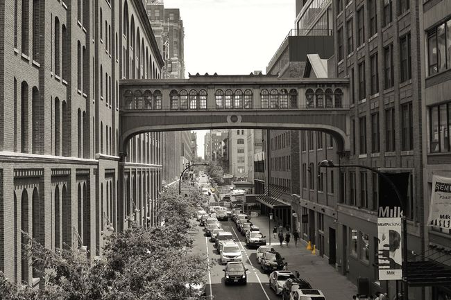 Architecture Bridge Architecture_bw Blackandwhite B&w Street Photography B&w Photography Blackandwhite Photography Highline NYC Meatpacking District