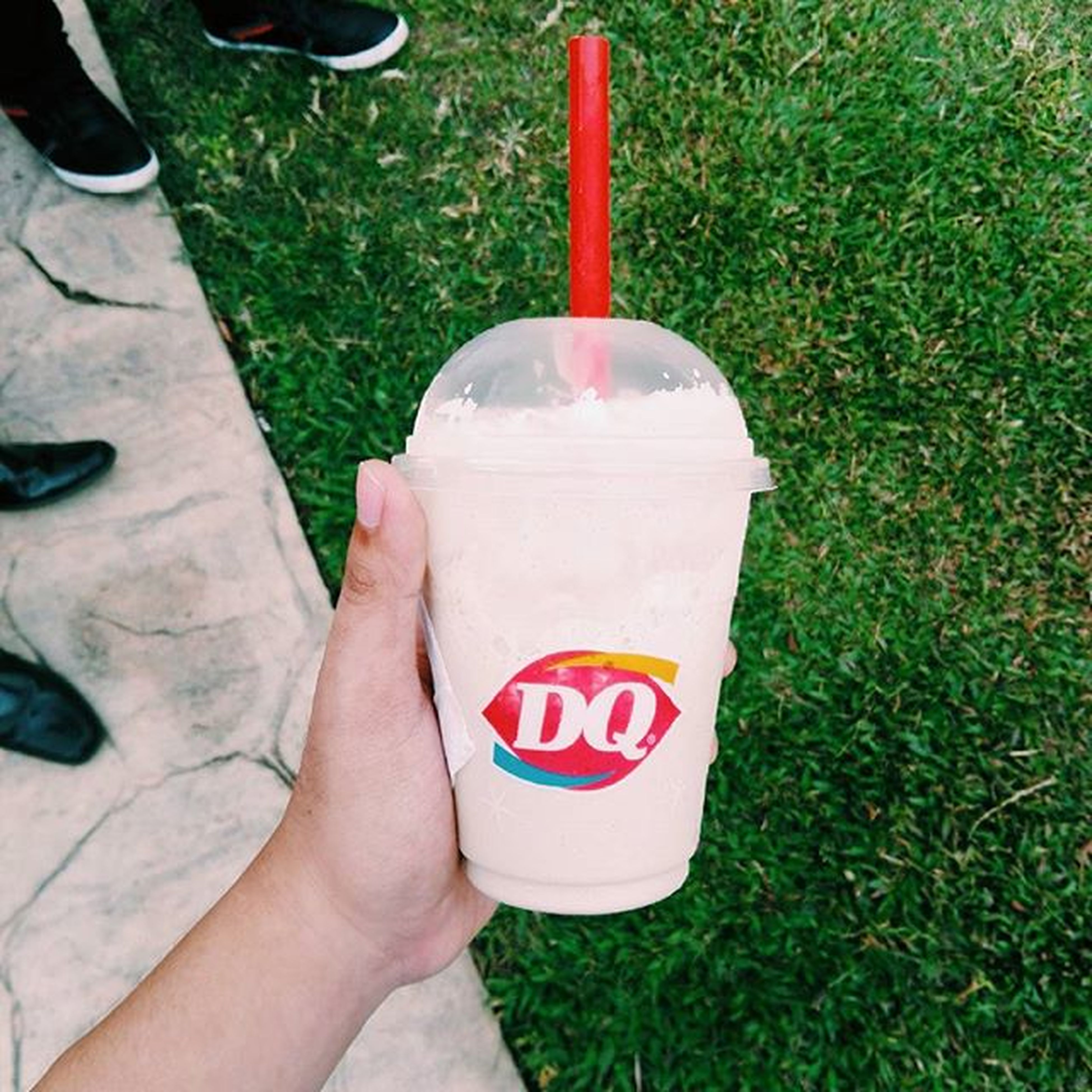 Cheat day everyday 😂 Dq Moolate Cappuccino